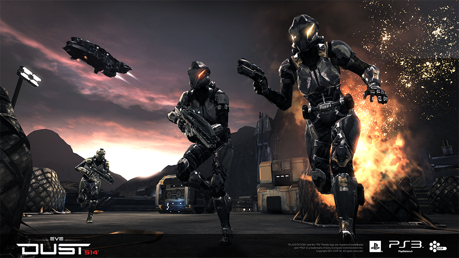 Mercenary Pack now available for PS3 online shooter Dust 514 | The ...