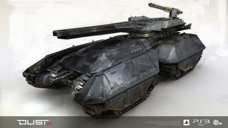 Caldari Heavy Attack Vehicle (HAV)