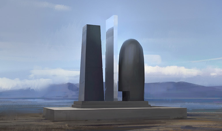 The EVE Universe Monument