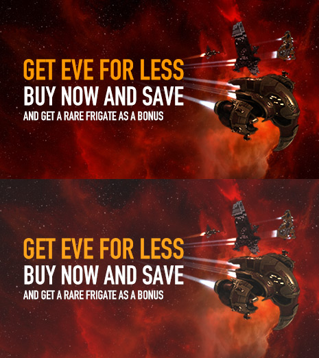 Get EVE for Less