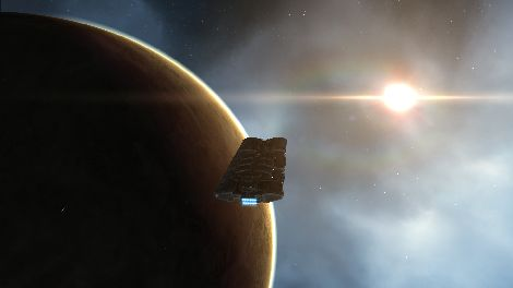 Screenshot taken in Akiainavas solar system in EVE Online
