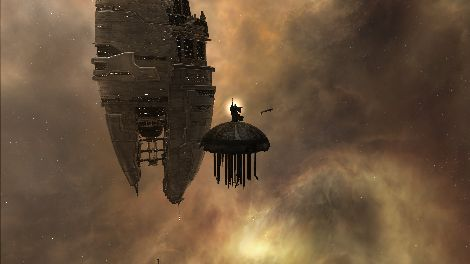 Screenshot taken in Amarr solar system in EVE Online