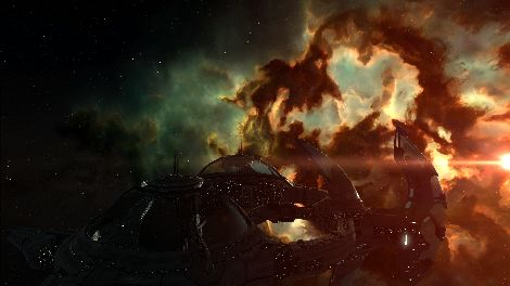 Screenshot taken in Couster solar system in EVE Online