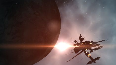 Screenshot taken in Malkalen solar system in EVE Online
