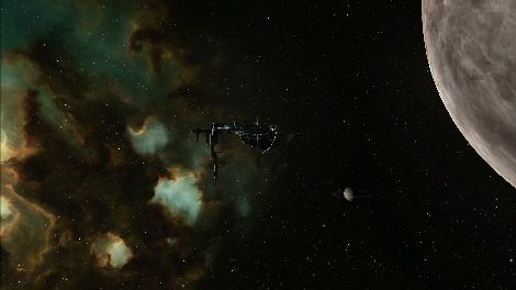 Screenshot taken in Poitot solar system in EVE Online