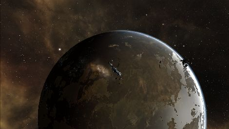 Screenshot taken in Sarum Prime solar system in EVE Online