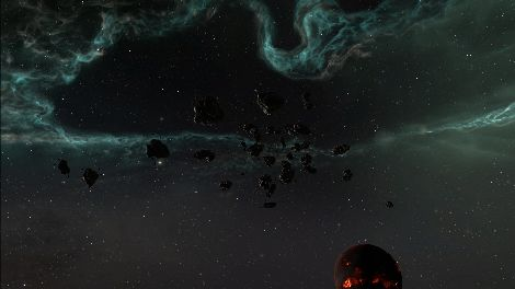 Screenshot taken in 4C-B7X solar system in EVE Online