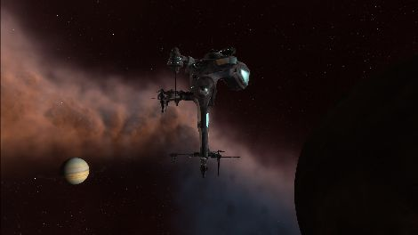 Screenshot taken in FDZ4-A solar system in EVE Online
