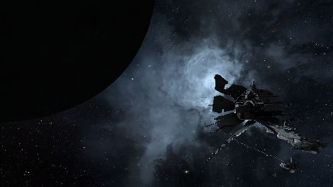 Screenshot taken in X-7OMU solar system in EVE Online