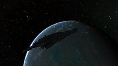 Screenshot taken in Luminaire solar system in EVE Online