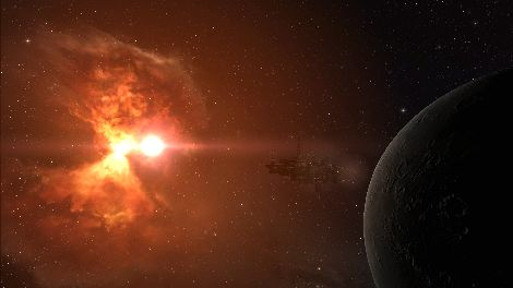 Screenshot taken in M-MD3B solar system in EVE Online