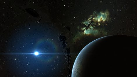 Screenshot taken in Yulai solar system in EVE Online