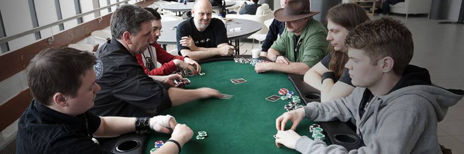 Charity poker tournament at Fanfest 2011