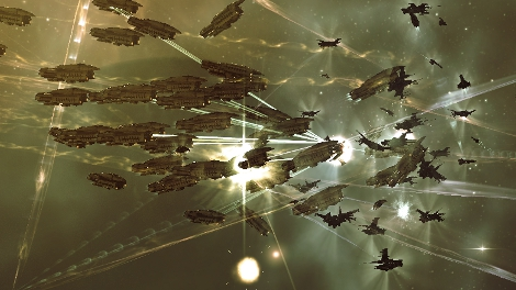 Amarr Fleet Attack Dev Caravan