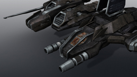 Reaper Rookie Ship concept art