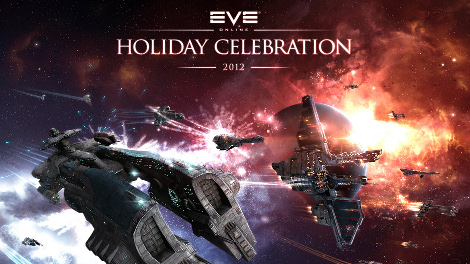 EVE Online Holiday Celebration 2012 wallpapers