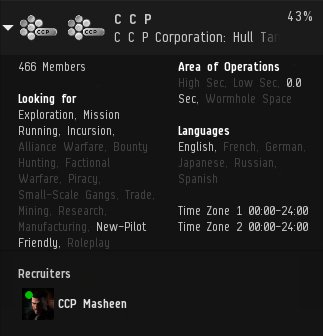 Corp Info