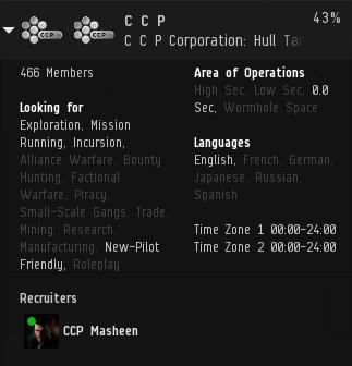 Corp Info