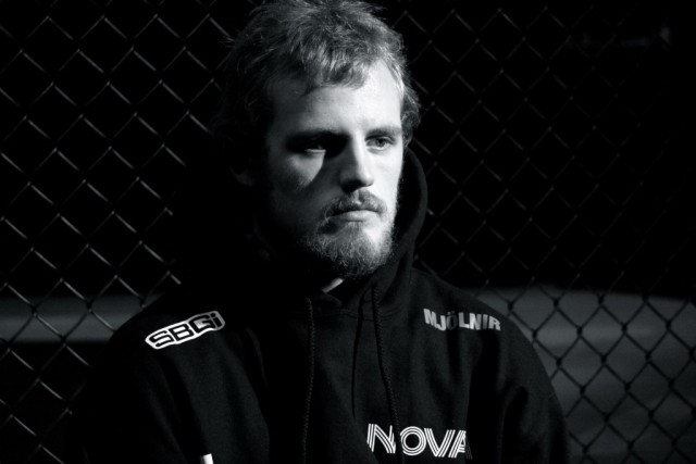 MMA Fighter Gunnar 'Gunni' Nelson at Fanfest 2014