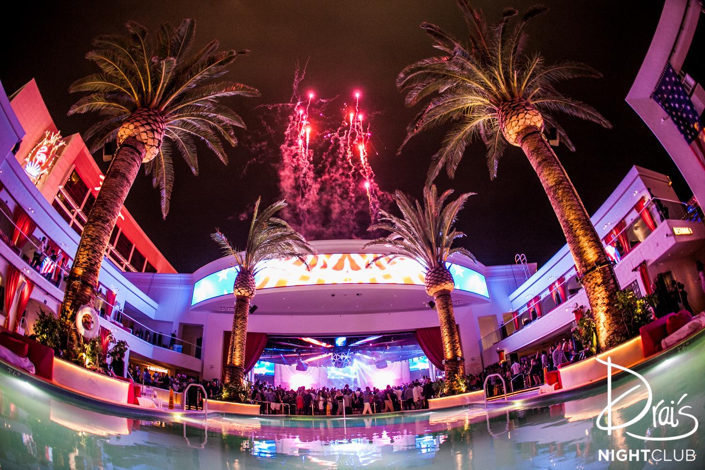 Las Vegas Strip New Years Eve