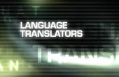 Language translators.
