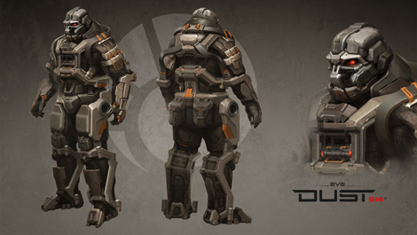 Minmatar Heavy Dropsuit Preview