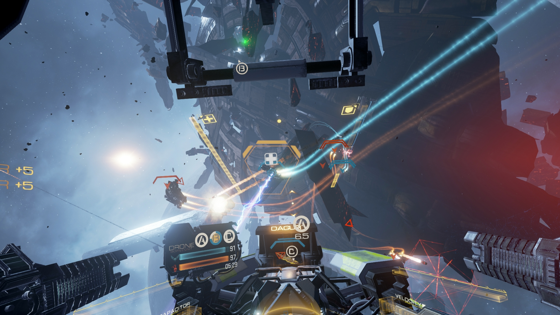 Image result for Eve: Valkyrie