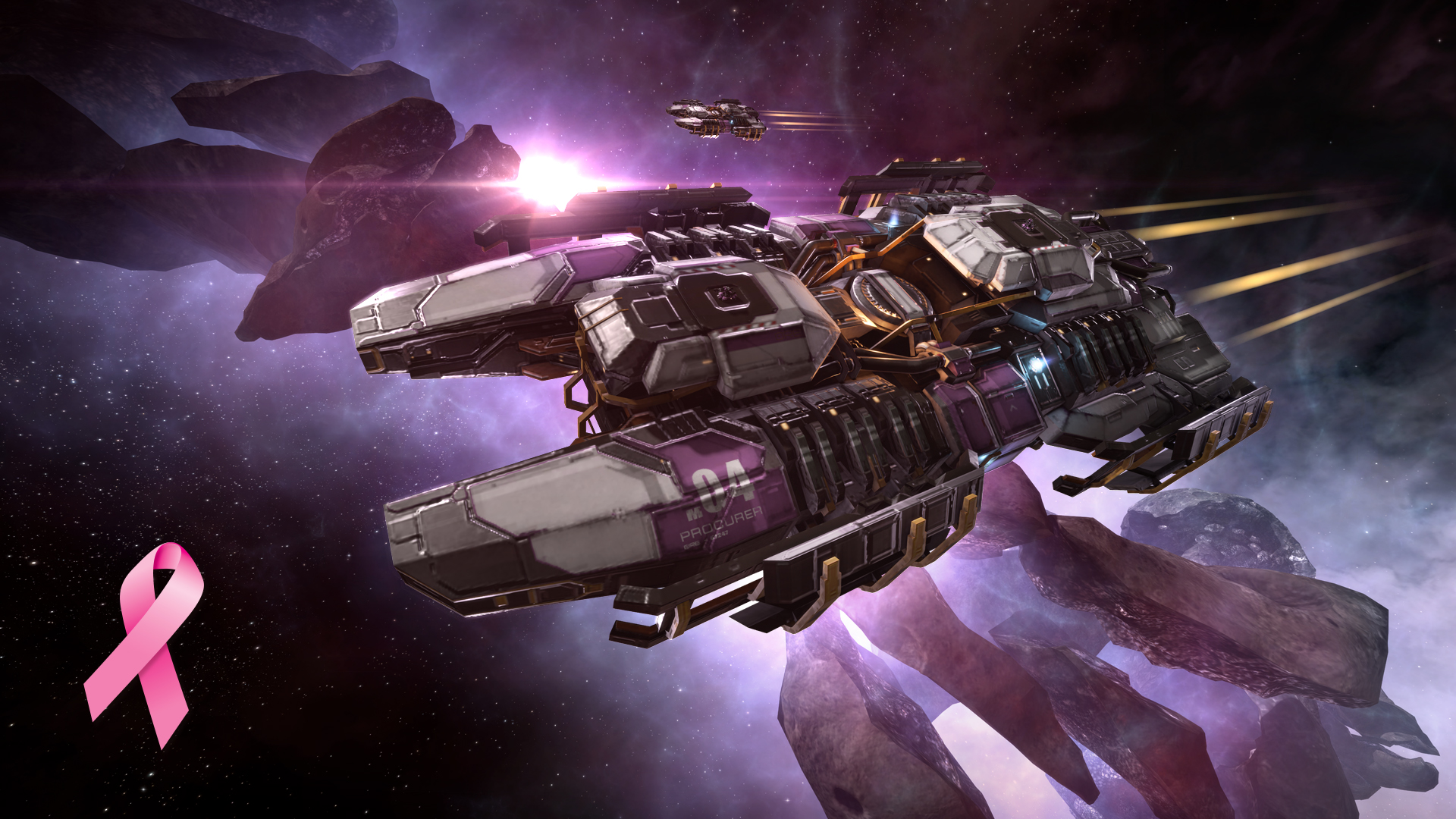 We Are Delighted To Announce That Rosada Dawn Skins Now Available For A Limited Time In The New Eden Support Of T Cancer Awareness