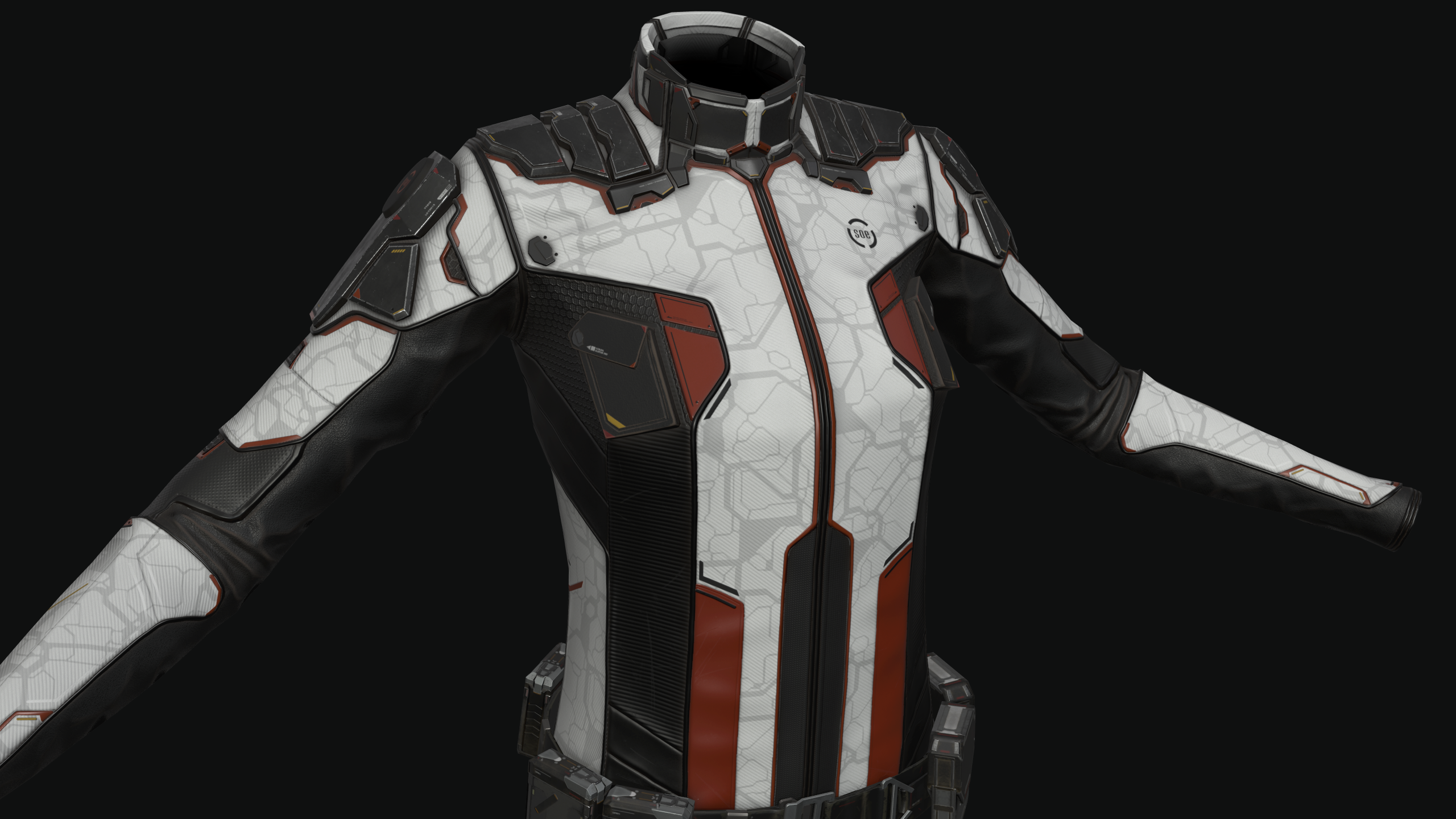 New Eden Store: Sisters of EVE Expeditionary Suit | EVE Online