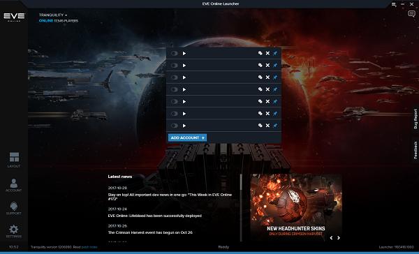 eve launcher update